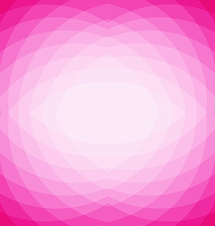 Pink abstract geometric triangle mosaic background vector image