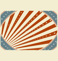 fourth of july holidays poster background vector image