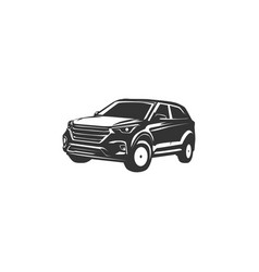 car silhouette designs vector image