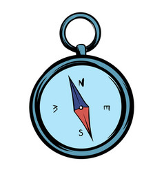 compass icon cartoon vector image