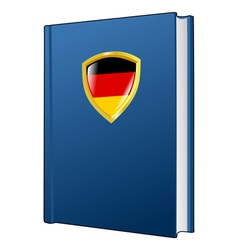 constitution of Germany vector image