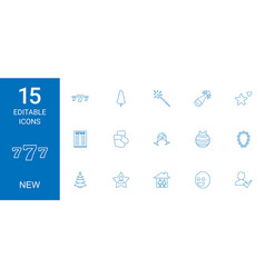 New icons vector