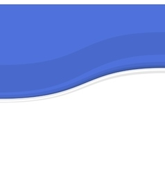 Blue and White Blank Abstract Background vector image vector image