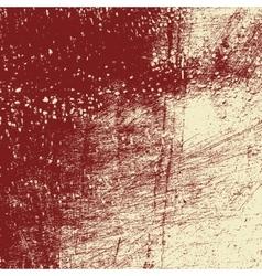 Red Beige Grunge vector image