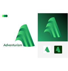 Adventurism logo template design vector