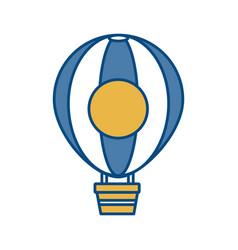 Air balloon icon image vector