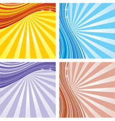 Background set vector
