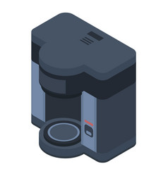 Clean coffee machine icon isometric style vector