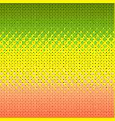 colorful halftone background dot colorful vector image