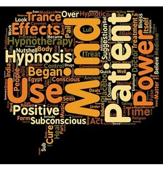 Is Hypnosis A Circus Act text background wordcloud vector