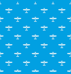 military plane pattern seamless blue vector image