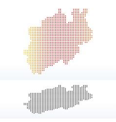 North Rhine-Westphalia Germany vector image