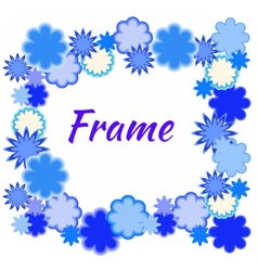 blueframe vector image vector image