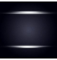 Abstract dark background with light lines vector image