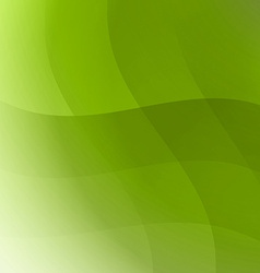 Background abstract green vector image