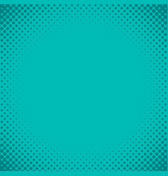 Blue green halftone background vector
