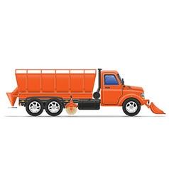 Cargo truck 19 vector