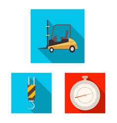 Design of goods and cargo symbol vector