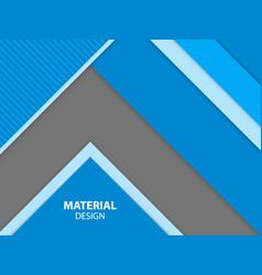 blue color material design background vector image