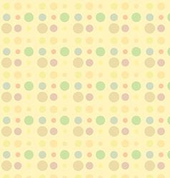 dot seamless 1 vector image vector image