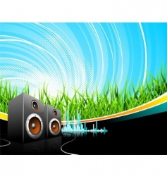 music illustration vector image