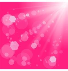 Pink burst vector
