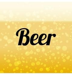 Beer background vector image