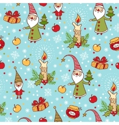 Bright holiday pattern vector image vector image