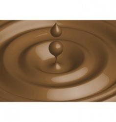 vector chocolate vector image