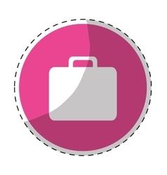 briefcase icon image vector image
