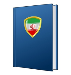 Constitution of iran vector
