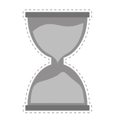 Hourglass time icon image vector