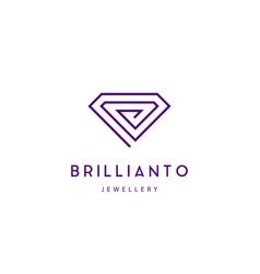 Jewellery company logo vector