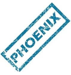 Phoenix rubber stamp vector image