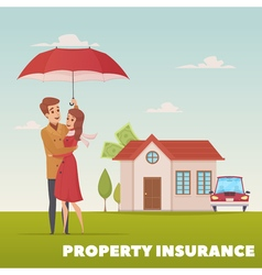Property Insurance Design Concept vector image