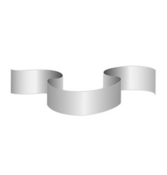Ribbon on a white background vector