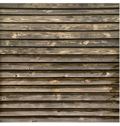 rustic old timber wood wall vector image