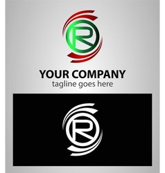 Set Of Letter R such a logo vector