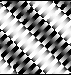 Slanted rectangular pattern with great contrast vector
