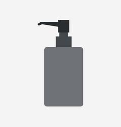 Soap bottle icon vector