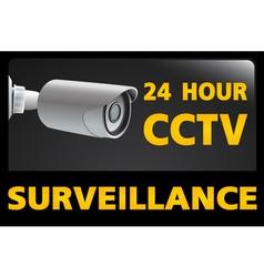 CCTV Security Camera vector image