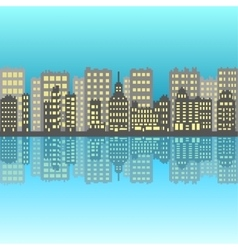 Set of pixel small building vector image vector image