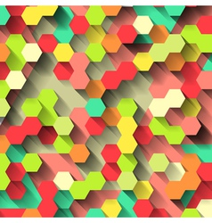 Bright colorful technological pattern vector image