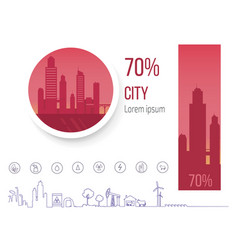 70 percent polluted cities problem of pollution vector