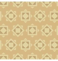 Ancient rhombus pattern vector image