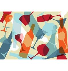 Beverage texture background vector