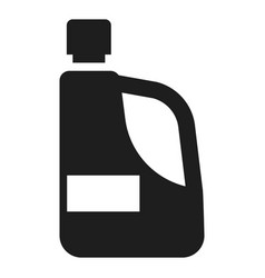 Detergent hand bottle icon simple style vector