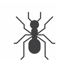 Forest Ant Icon vector