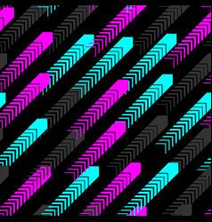 urban sport pattern seamless speed fun background vector image