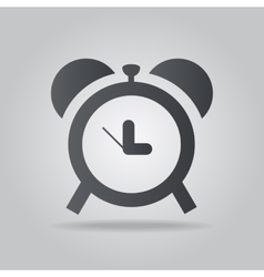 Icon time vector image